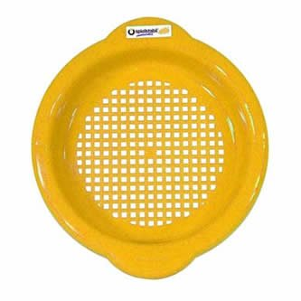 Spielstabil Small Sand Sieve - Yellow (Made in ()