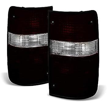 89 90 91 92 93 Toyota Hilux Mk3 Ln Rn Yn 2WD Corner Side Light Lamp Black L+R