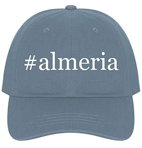 (The Town Butler #almeria - A Nice Comfortable Adjustable Hashtag Dad Hat Cap, Light Blue)