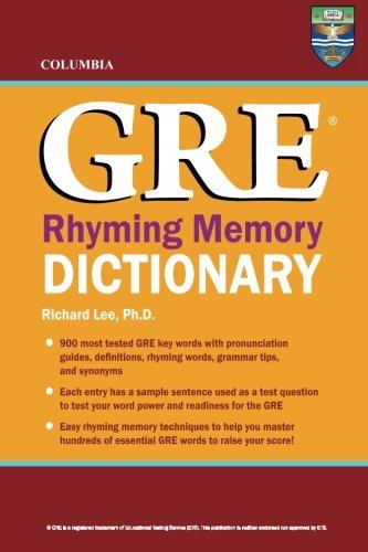 B.o.o.k Columbia GRE Rhyming Memory Dictionary RAR