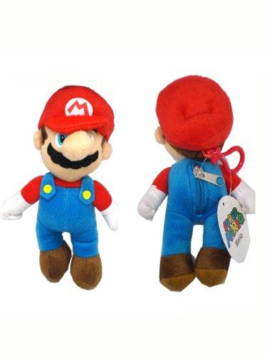 Mario Plush Keychain (Super Mario Plush Keychain - Super Mario Character Keychains)