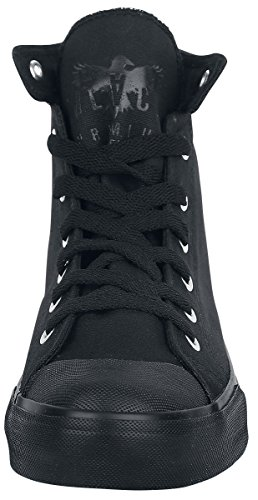 Black Schwarz Sneaker by The Line Premium schwarz EMP Walk wRfCgwq