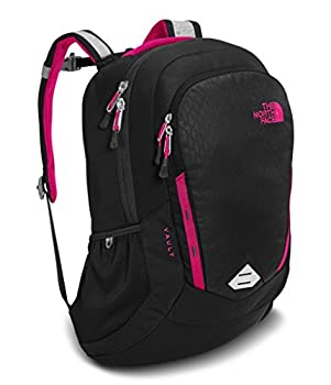 The North Face Women's Vault Backpack - Tnf Black Embosspetticoat Pink - One Size (Past Season) 0