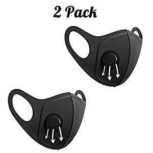 Amazon.com: Stosts 2 Pack Anti Dust Face Mouth Mask with