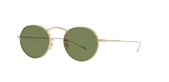 b09869e3f8 Image Unavailable. Image not available for. Colour  New Oliver Peoples OV  1220S M-4 30TH 503552 SOFT GOLD Sunglasses