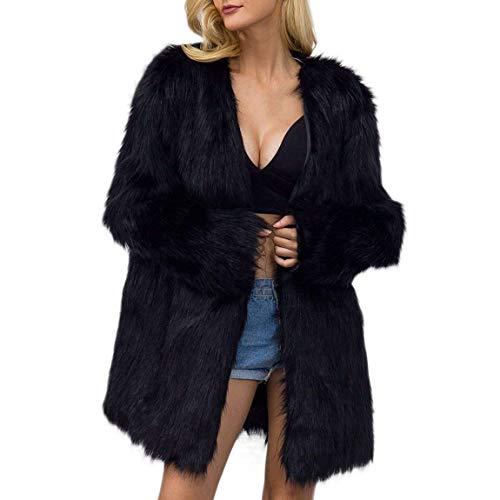 Femme Hiver Parka Cuir Confortables Styles Duveteux Young Chaud Longue Fashion Doux Oversize Faux Manteau r5rT6