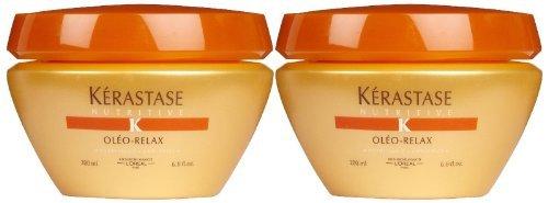 Kerastase Nutritive Oleo-Relax Masque, 6.8 oz, 2 pk ()