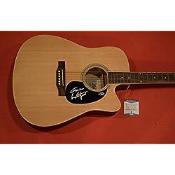 Gordon Lightfoot Signed Autographed Acoustic Guitar BECKETT BAS COA