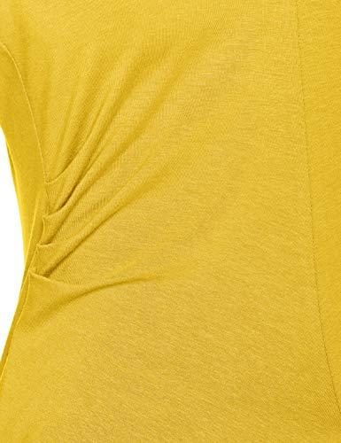 Larga Amarillo Manga Para Camisa Weber 40197 Mujer Gerry lemon 1Cqfwtw