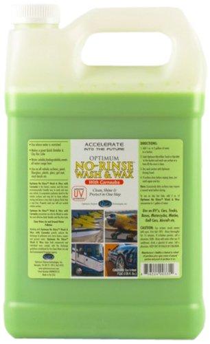 Optimum (NRWW2012G4) No Rinse Wash & Wax - 1 Gallon, (Case of 4)