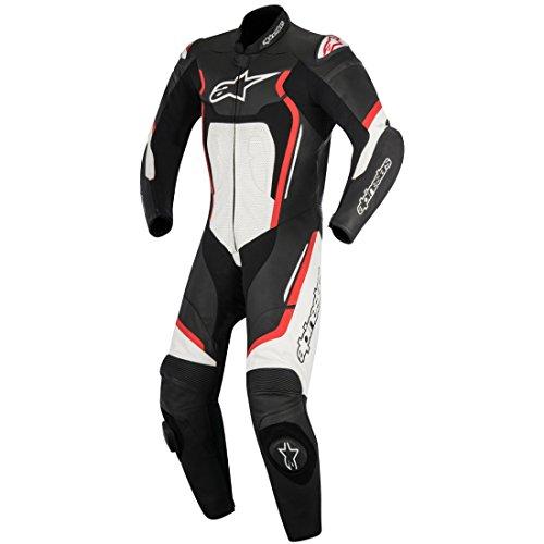 - Alpinestars Motegi v2 Leather One-Piece Suit (56) (Black/Red/White)
