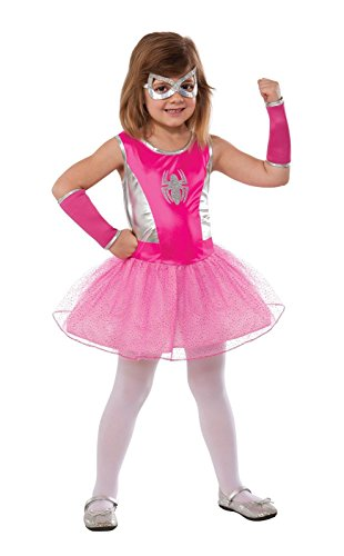 Rubie's Marvel Universe Classic Collection Pink Spider-Girl Costume, Child Large