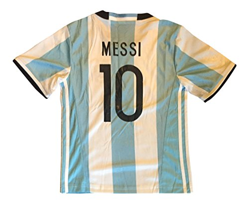 85d898478 2016 Argentina Kids  10 Messi Soccer Jersey   Shorts Youth (Medium (ages  6-7))