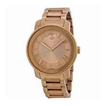 Movado Bold Rose Dial Rose Gold-tone Unisex Watch 3600199