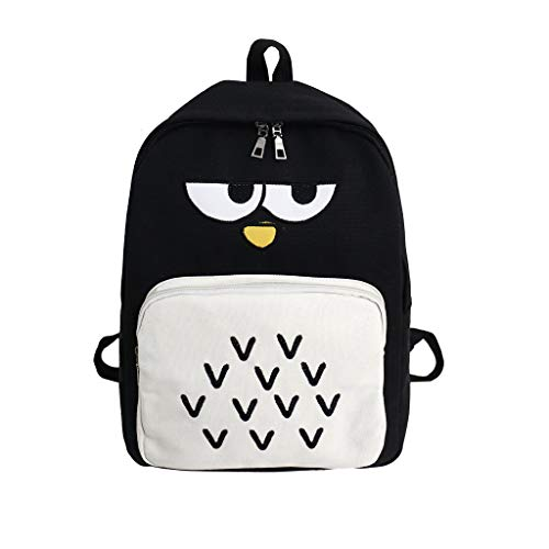 LYN Star✨ Backpack Child Baby Boy Girl Penguin Cartoon Animal School Bag Shoulder Bag Handbag Blue