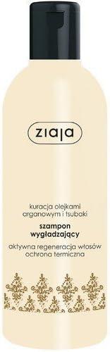 Champú suavizante Ziaja con tratamiento al aceite de argán y tsubaki. 300 ml. 00288