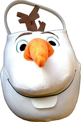 Disney Frozen Olaf Easter Jumbo Plush Basket , Easter Egg Hunts , Easter Activities]()