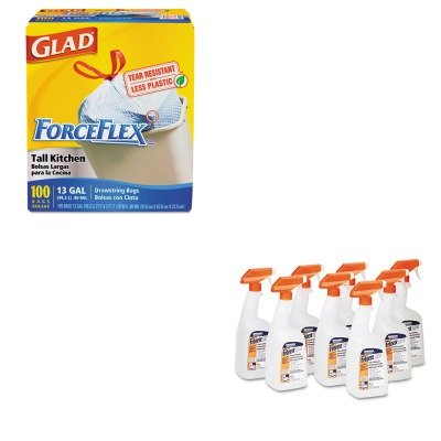 KITCOX70427PAG03259CT - Value Kit - Febreze Fabric Refresher amp;amp; Odor Eliminator (PAG03259CT) and Glad ForceFlex Tall-Kitchen Drawstring Bags (COX70427)