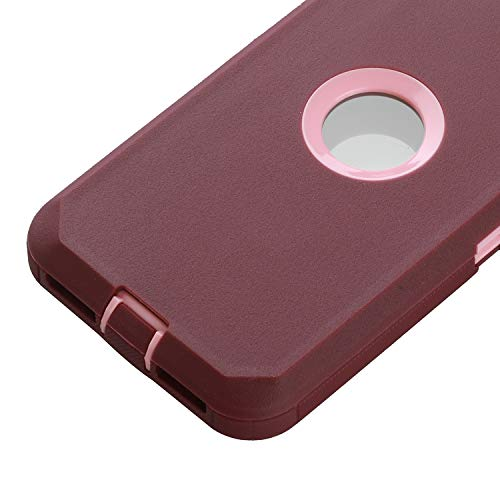 Co-Goldguard Case for iPhone SE 2020,Heavy Duty Cover 3 in 1 Built-in Screen Protector Durable Cover Dust-Proof Shockproof Drop-Proof Shell for iPhone SE 2nd 4.7