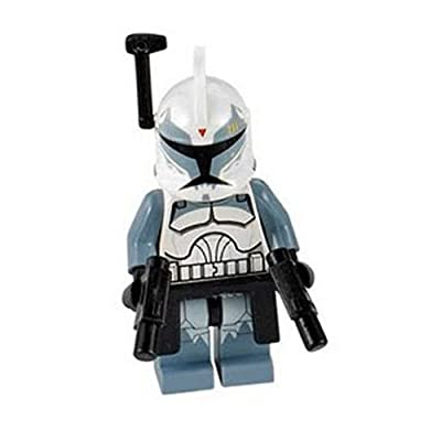 LEGO Star Wars Commander Wolffe minifig - from set 7964: Toys & Games