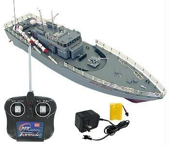 Missile Ship - RC Missile Warship Radio Remote Control HT-2877 RTR Ship Battleship Cruiser