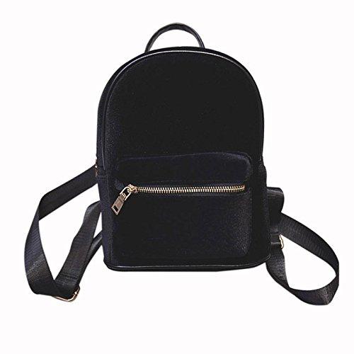 JD Million shop New Fashion Simple Designer Backpack Soft Velour Solid Women Small Travel Backpacks Girls School Book Bag Rucksack Mochila 1STL