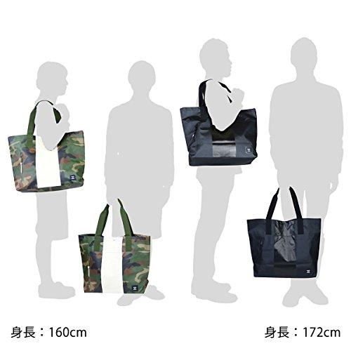 Borsa Shopping Donna Nero Herschel Alexander tote Bag Studio Collection White 24L