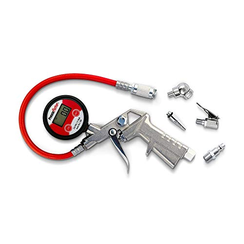 Prestaflator Digital Bicycle Tire Inflator - Presta and Schrader Air Compressor Tool