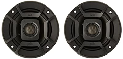 "Polk Audio DB402 DB+ Series 4"" Coaxial Speakers with Marine Certification, Black"