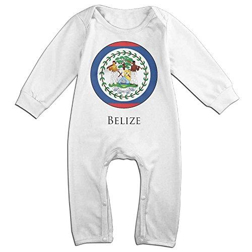 HOHOE Newborn Belize Long Sleeve Bodysuit Baby Onesie 18 Months