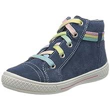 superfit Tensy, Zapatillas Altas para Niñas, Azul (Blau 80), 25 EU