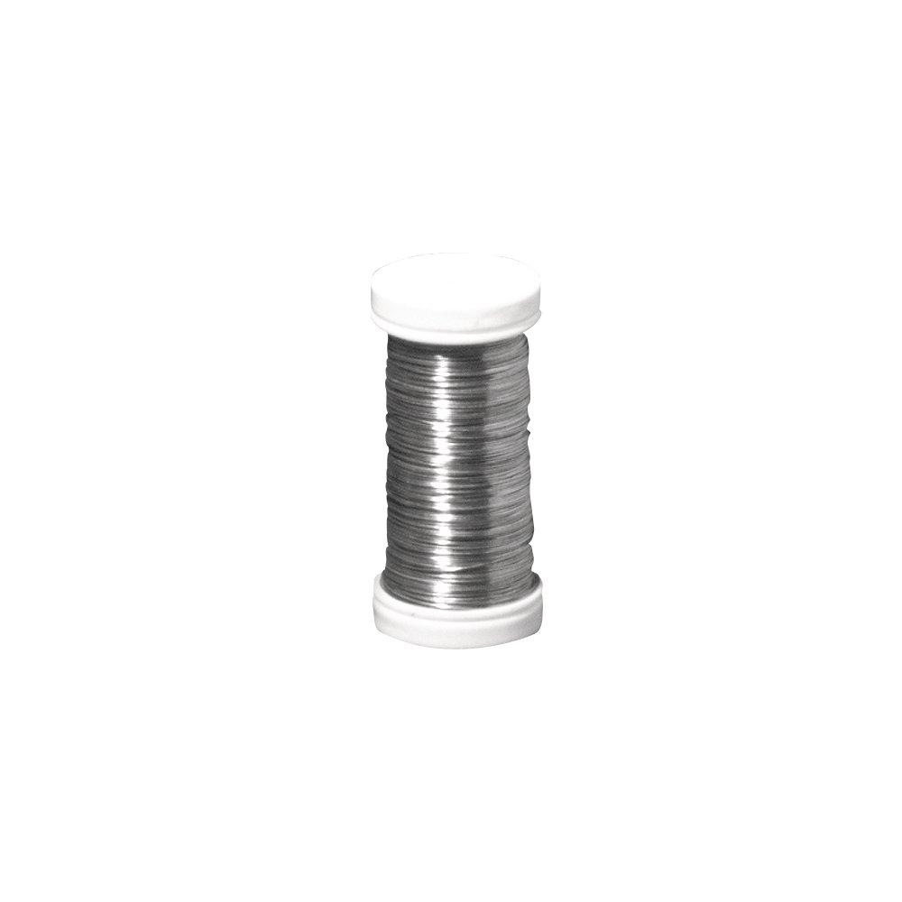 Rayher Hobby 2400121 Blumendraht, 0, 35 mm Durchmesser, Spule 100 m ...