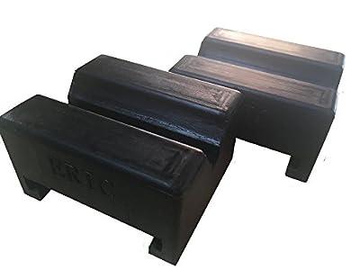 ERIC ek-70 Rubber Car Truck Cross Slotted Frame Rail Floor Jack Disk Pad Adapter
