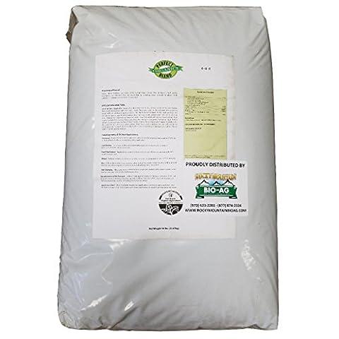 Perfect Blend Organic Fertilizer 4-4-4 - 50 Pound - Love It Bag - 150 Cups