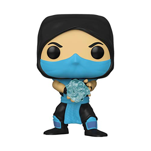Funko- Pop Games Mortal Kombat-Sub-Zero Collectible Toy, Multicolor (45