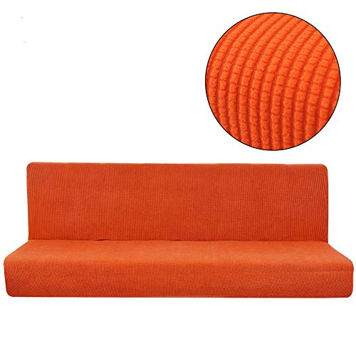 Dasior Stretchy Solid Sofa Bed Covers 1-Piece, Folding Armle