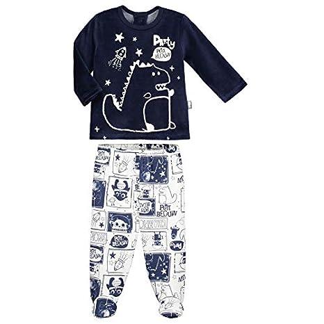 0f644bf78cc7f Pyjama bébé 2 pièces avec pieds Cosmodino - Taille - 9 mois (74 cm ...