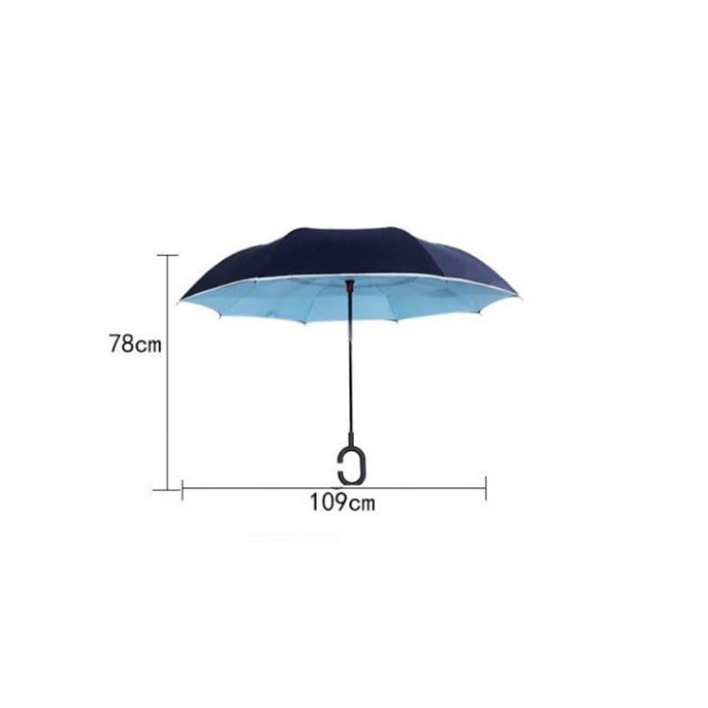 Color : Green Wuzhongdian Sun Umbrella,Foldable,Sunscreen Coating Windproof UV Protection Big Straight Umbrella