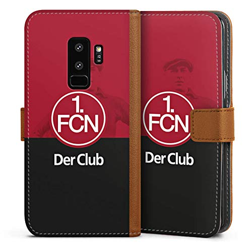 DeinDesign Leder Flip Case kompatibel mit Samsung Galaxy S7 Tasche H/ülle Logo 1 FCN 1 FC N/ürnberg