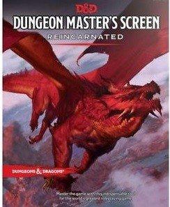 Dungeons and Dragons: Pantalla del Dungeon Master Reencarnada (castellano) EDGE