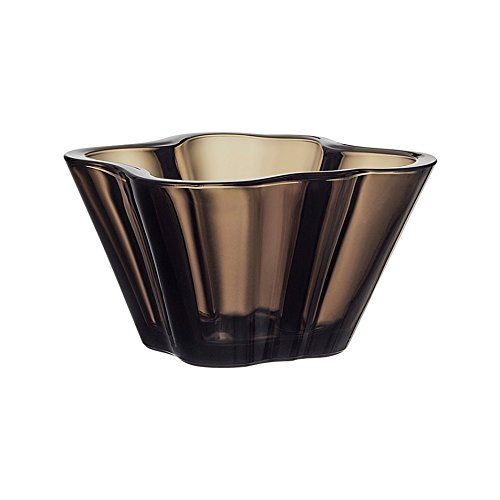 Iittala Alvar Aalto Collection Aalto Glass Bowl 75 mm, Sand