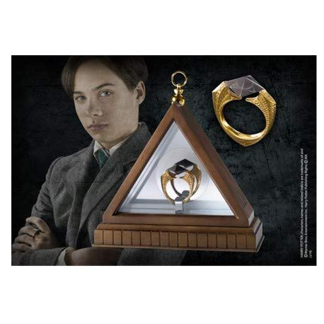 Noble Collection - Harry Potter Replica 1/1 Lord Voldemort's Horcrux Ring (gold-pla ()