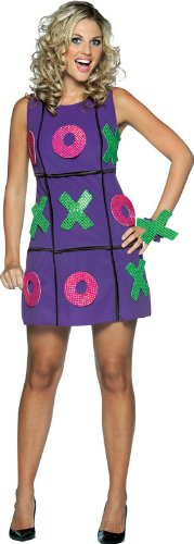 Tic Tac Toe Dress Adult Halloween Costume (One Size Fits Most Adults)]()