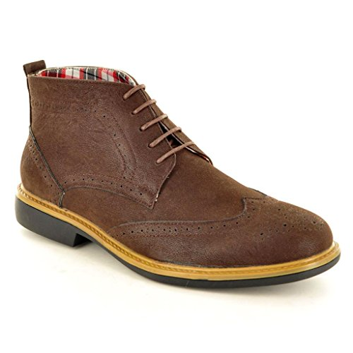 My Perfect Pair , Herren Stiefel Dunkelbraun
