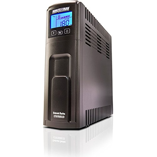 Minuteman Power Technologies ETR1500LCD Entrust LCD Line Interactive UPS by Minuteman Power Technologies
