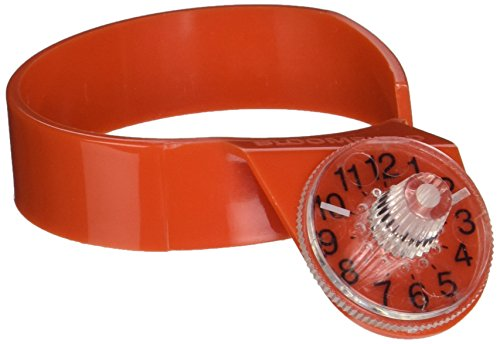 Bloomfield Orange Decanter - Bloomfield 8953-TMR-ORG Decanter Timer, Orange