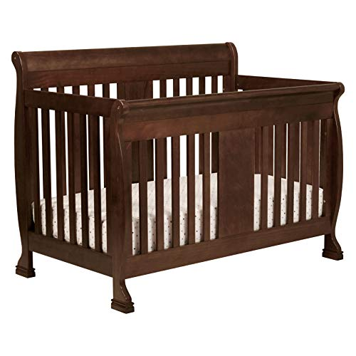 - DaVinci Porter 4-in-1 Convertible Crib with Toddler Bed Conversion Kit, Espresso