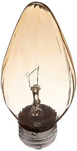 Sylvania 13823 - 25F/AIC/BL/2PK 120V F15 Decor Flame Tip Light Bulb 2 Lamps by Sylvania