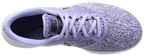 Nike Dames Flex Contact Loopschoen Paars Agaat / Zwart / Paars Aarde / Wit