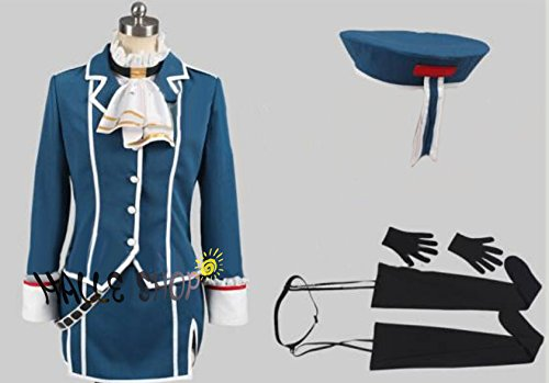 艦隊これくしょん  艦これ 艦娘(かんむす) 高雄風 コスプレ衣装 コスチューム ハロウィン、クリスマス、イベント、お祭り仮装など (男性Sサイズ) B00VTHK5N0